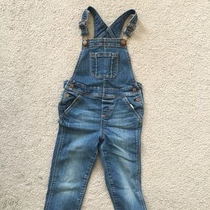 Baby Gap jean overalls size 4 toddler 1969